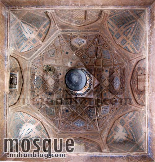 سقف کریاس مسجد جامع یزد