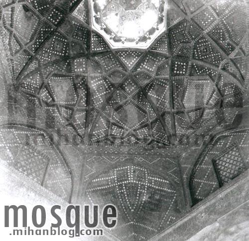عکس قدیمی کریاس مسجد جامع یزد