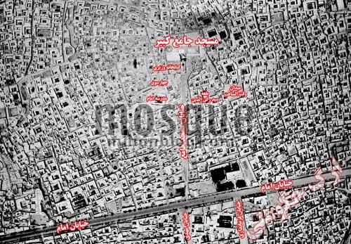 مسجدجامع و همسایگیها