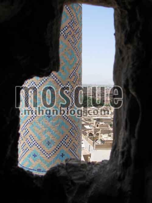 مناره مسجد جامع یزد