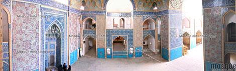 عکس 180 درجه گنبدخانه مسجد جامع یزد