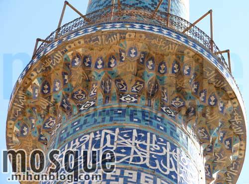 قفسه مناره مسجد جامع یزد