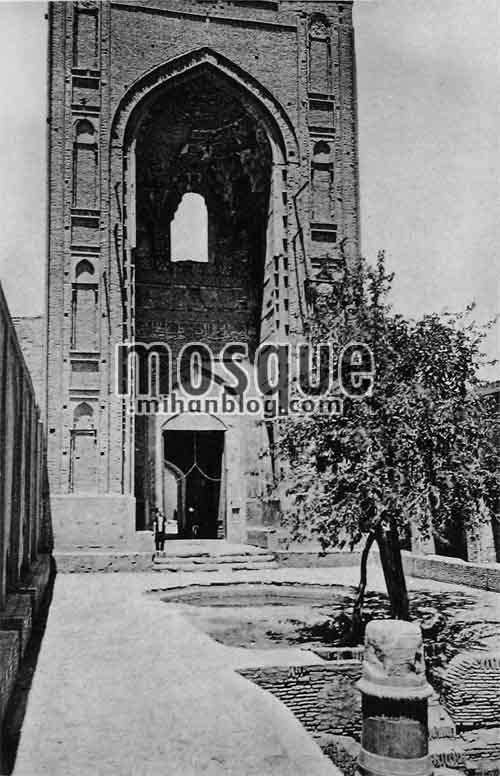 مسجد جامع یزد - آرتور پوپ